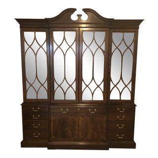 Hickory Chair Co. James RIver 9 Drawer & 6 Door Mahogany Breakfront/China Closet