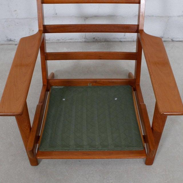 Hans Wegner For Getama Lounge Chair & Ottoman - Image 7 of 9