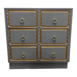 Dorothy Draper Style Chest of Drawers For Sale