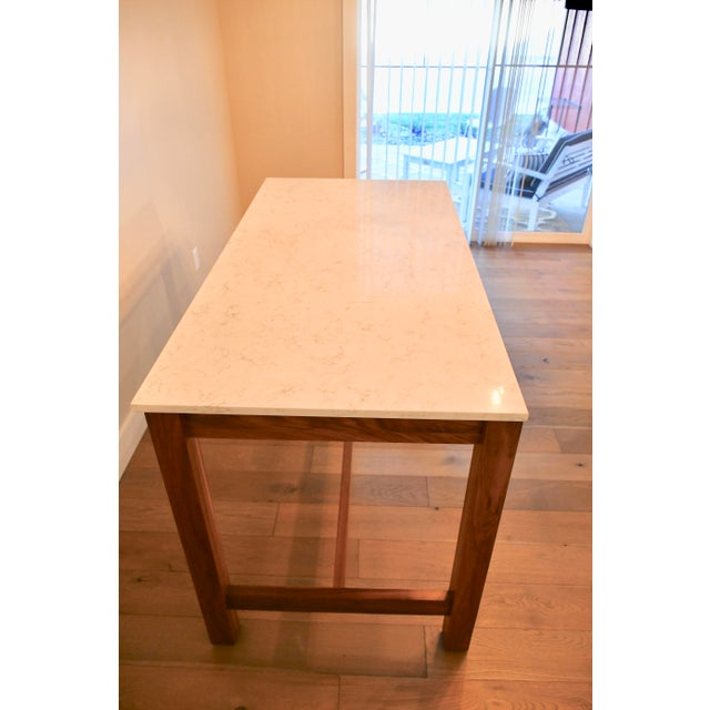 Room & Board Room & Board Linden Dining Counter Bar Table For Sale - Image 4 of 9