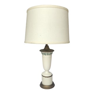 Traditional Table Lamp With Shade For Sale