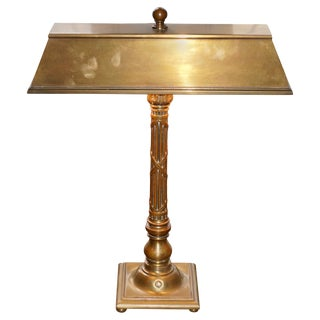 Tiffany & Co. Bronze Desk Lamp For Sale