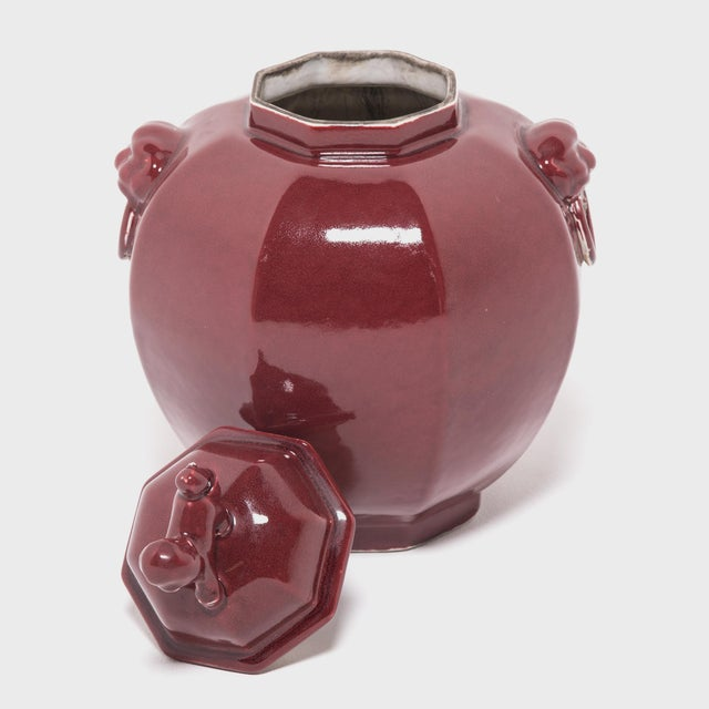 Pair of Shizi Hong Ginger Jars For Sale In Chicago - Image 6 of 8