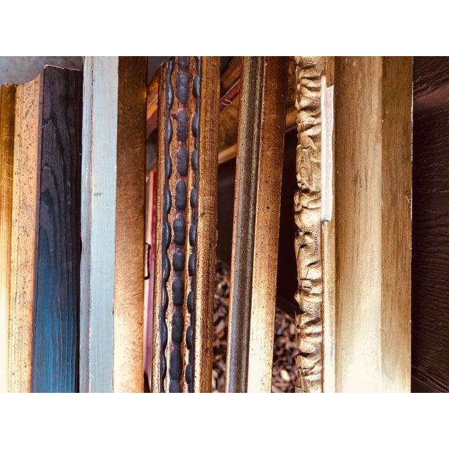 Vintage Boho Chic Wood Frames - Set of 8 For Sale - Image 12 of 13