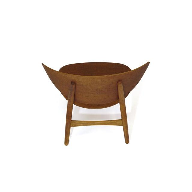 Brown Hans Wegner Teak Shell Chair Fh-1936 For Sale - Image 8 of 12