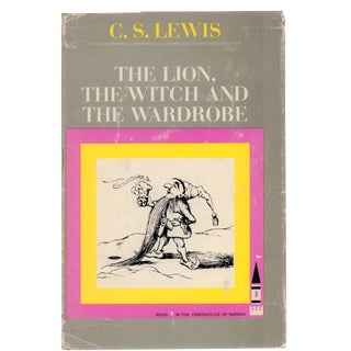 "1966 ""The Lion, the Witch and the Wardrobe"" Collectible Book For Sale"