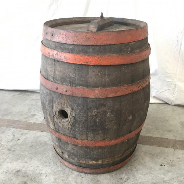 French Antique Wine Barrel Vineyard Decor Chairish
