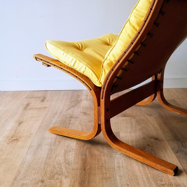 """1970s Ingmar Relling Newly Upholstered """"Seista"""" Chairs - a Pair For Sale - Image 10 of 13"""