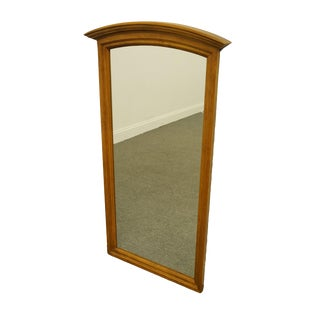 Ethan Allen Heirloom Nutmeg Maple Colonial Style Dresser / Wall Mirror For Sale