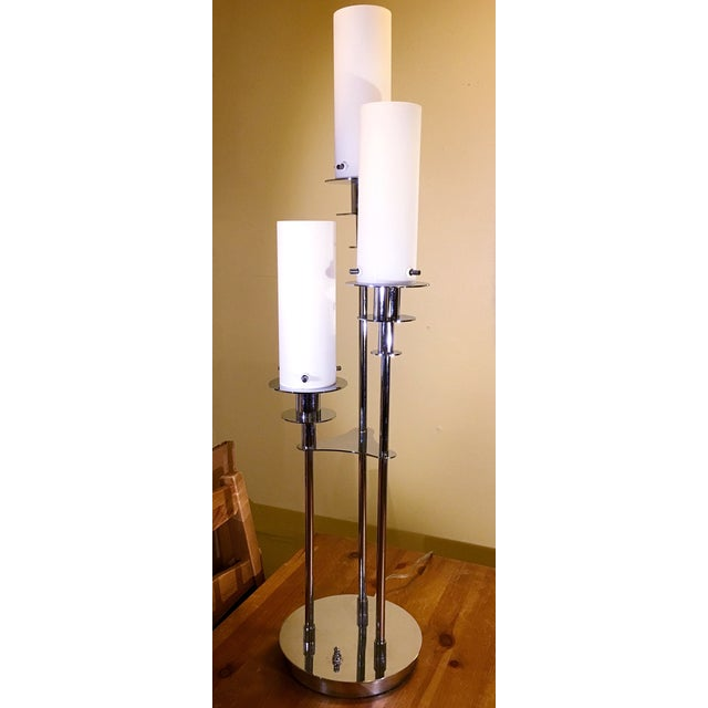 Lite Source Credence 3-Light Chrome Table Lamp - Image 2 of 6
