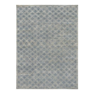 Mansour Quality Handmade Modern Wool Rug - 5′2″ × 7′ For Sale
