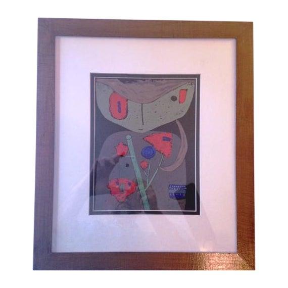 "Paul Klee ""Figure of the Oriental Stage"" Print - Image 1 of 3"