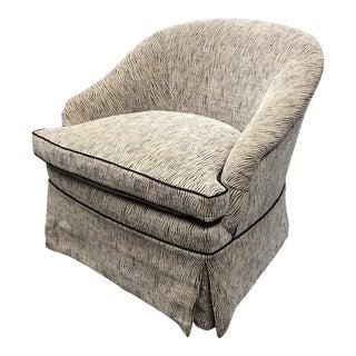 Contemporary Marco Fine Furniture Custom Accent Chair