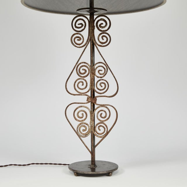 Victorian 19th Century Victorian Iron Lamps For Sale - Image 3 of 9