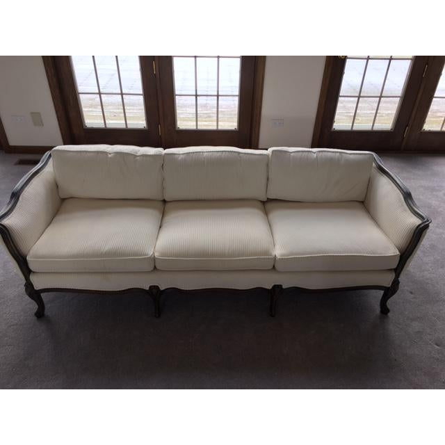 French Transitional Style Sofa - Image 3 of 6