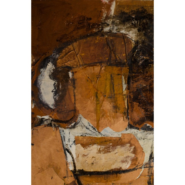 Abstract Expressionism Abstract Expressionist Diptych by Hilda O'Connell, 1965 For Sale - Image 3 of 8