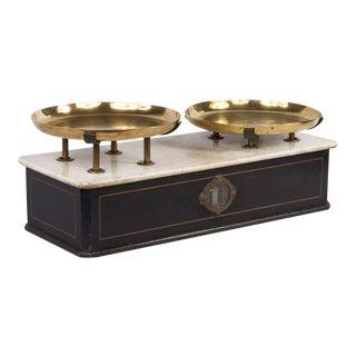 Napoleon III Marble Bakery Scale For Sale