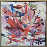 """Image of Laurie MacMillan """"A Change of Scenery"""" Abstract Painting For Sale"""