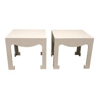 Boho Chic Bungalow 5 Jordan Side Table - a Pair For Sale