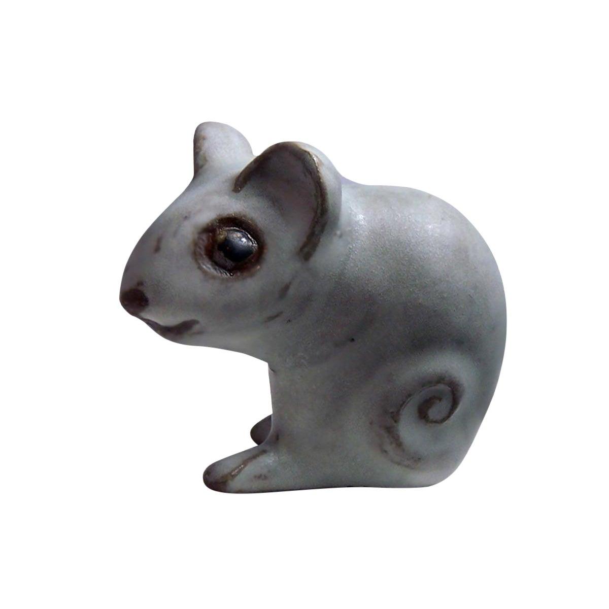 Andersen Design Gray Mouse Figurine