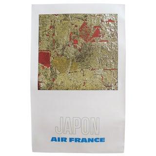 1971 Air France Poster, Japon (Japan)