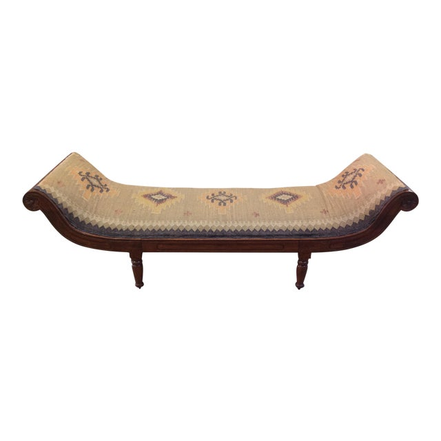 Antique Kilim Daybed - Image 1 of 6
