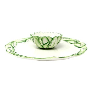 Lily of the Valley Chip and Dip For Sale