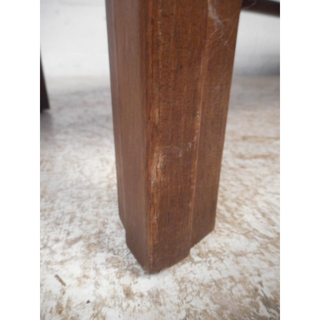 Wood Surfboard Coffee Table For Sale - Image 7 of 13