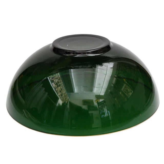 Round Emerald Green Bowl - Image 2 of 4