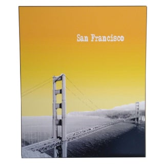 Custom Mounted San Francisco Poster
