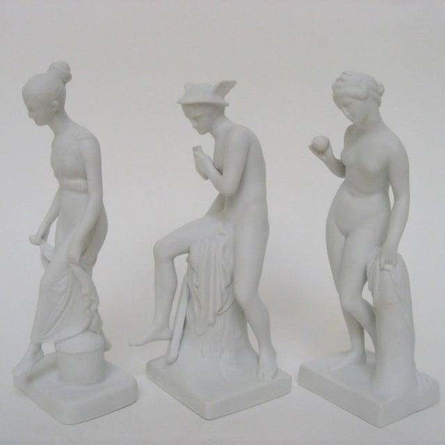 Figurative Bing & Grøndahl Bisque Figurines, Set of 3 For Sale - Image 3 of 8