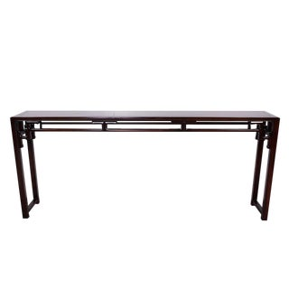 Antique Chinese Rosewood Entry Console/Sofa Table