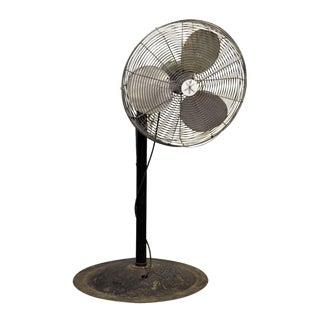 Vintage Industrial Floor Fan