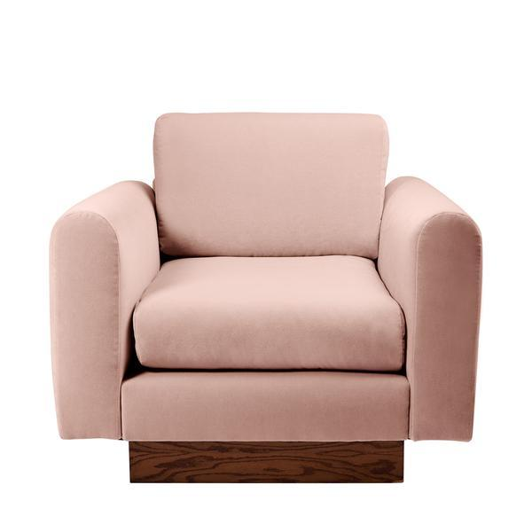 Harvey Probber Lavender Velvet Club Chairs - Pair - Image 8 of 10