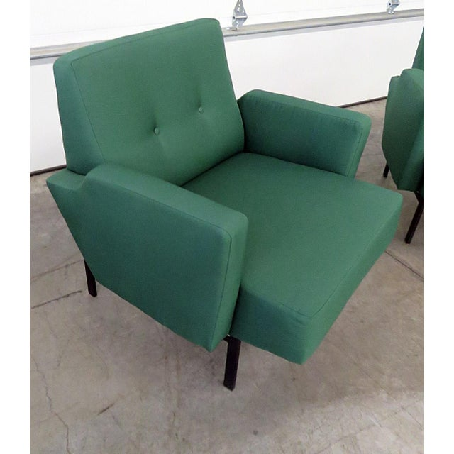 Pair of Italian Modern Club Chairs - Image 3 of 5
