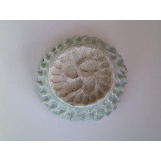 Hand Formed Celadon Bowl - Image 5 of 7