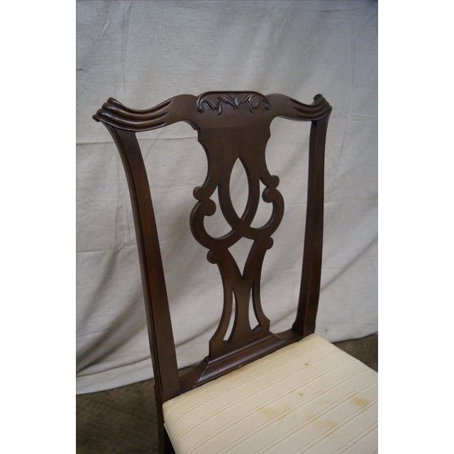 Kittinger Mahogany Dining Chairs - Set of 8 - Image 5 of 10