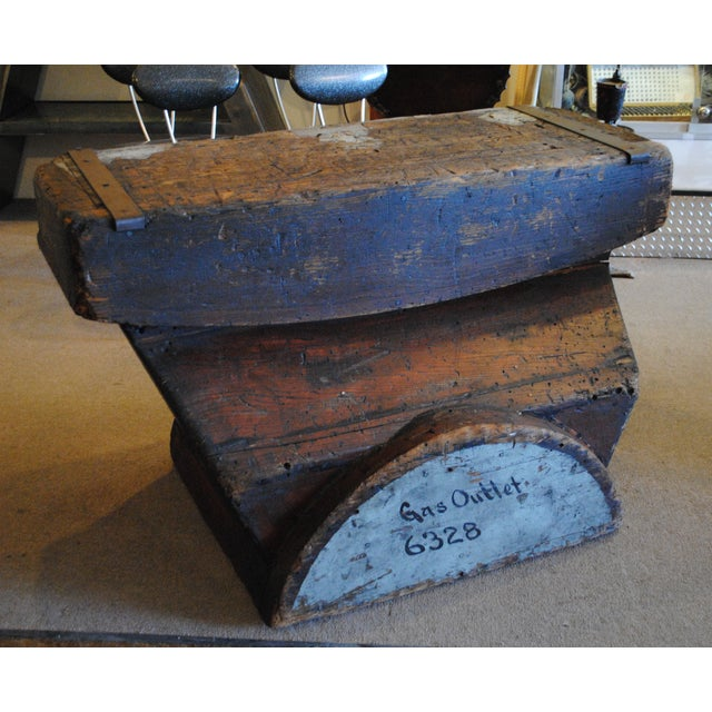 Industrial Foundry Mold Side Table - Image 2 of 8
