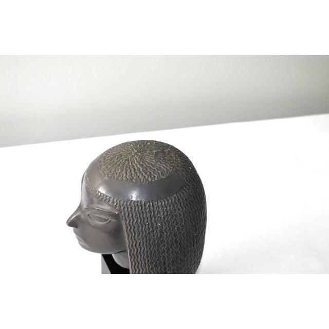 Vintage Fred Press Eygptian Female Sculpture - Image 7 of 10