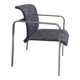 Peter Protzman for Herman Miller Chrome Armchair For Sale