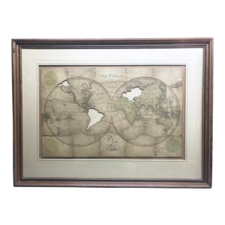 John Wallis's New Dissected 1812 Puzzle World Map