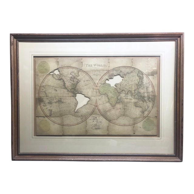 John Wallis's New Dissected 1812 Puzzle World Map For Sale