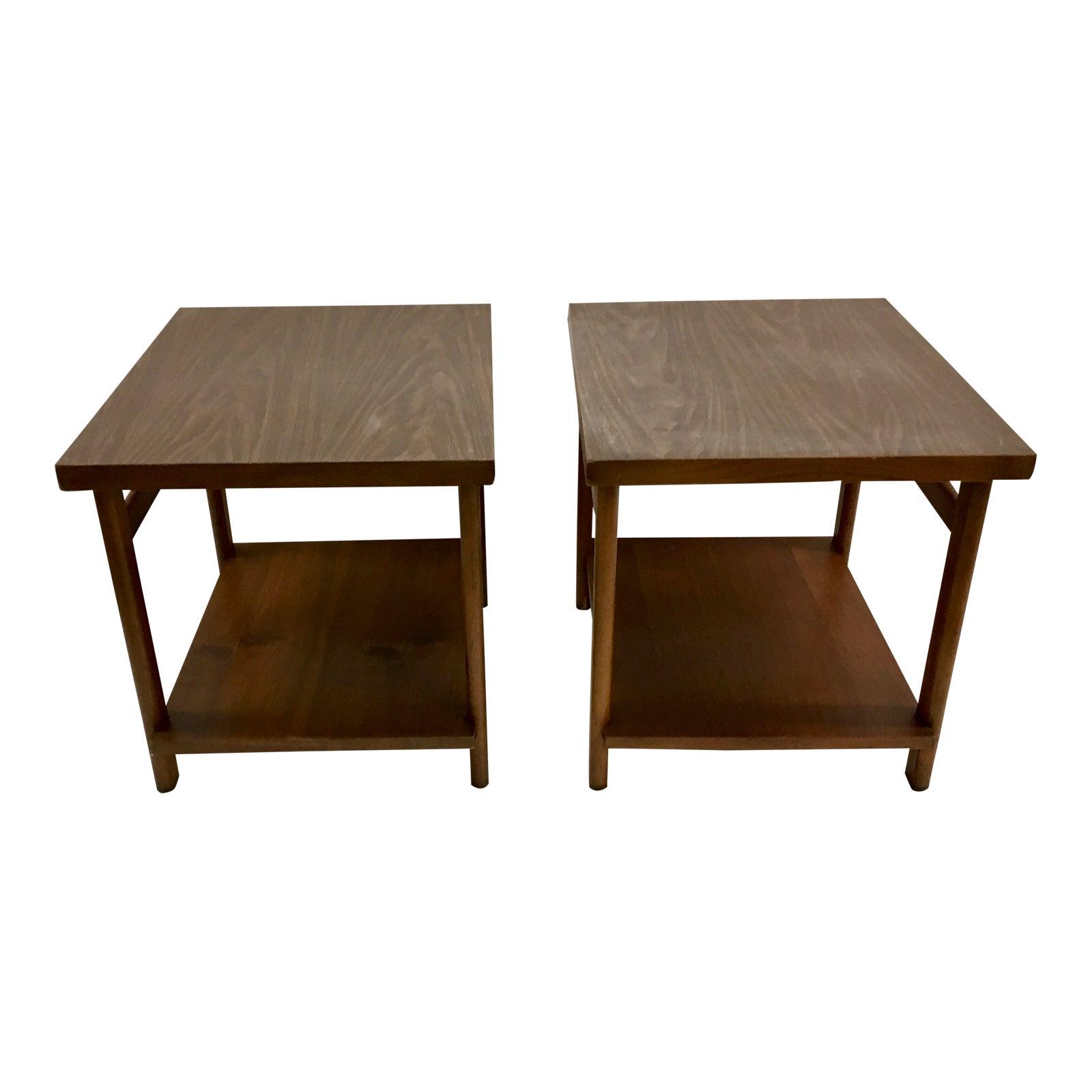 Mid Century Modern Furniture Virginia: Lane Mid-Century Modern Virginia Maid End Tables
