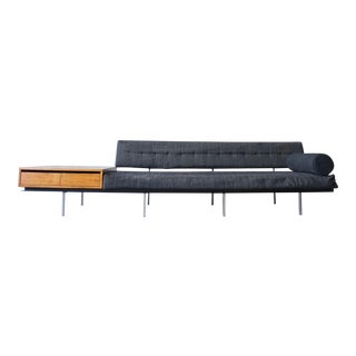 Florence Knoll Sofa and Cabinet For Sale
