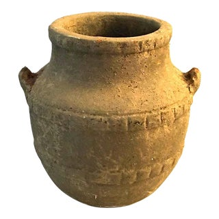 Ancient Primitive Clay Pot