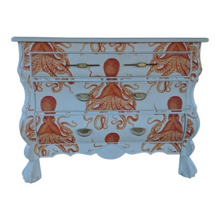 Octopus 3 Drawer Bombay Chest For Sale