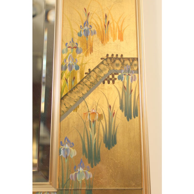 La Barge Chinoiserie Style Mirror, Signed C. Adams For Sale In Los Angeles - Image 6 of 13