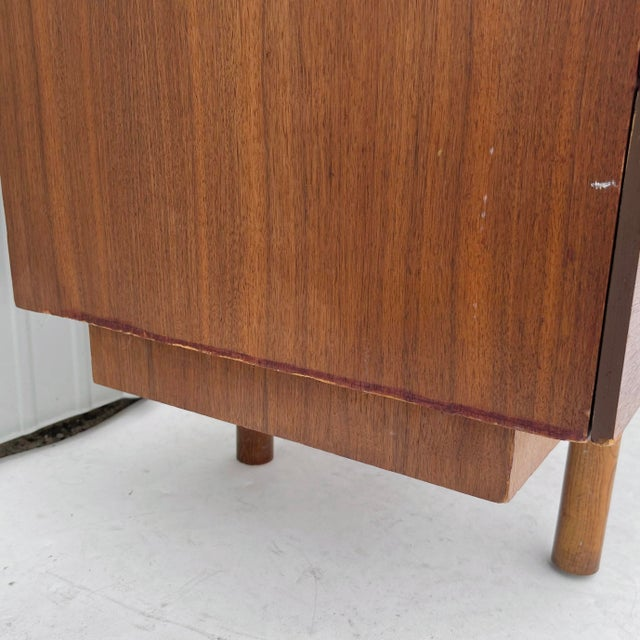 1960s Wood Mid-Century Modern Writing Desk For Sale - Image 11 of 13