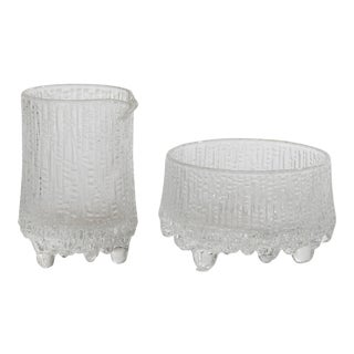Iittala Tapio Wirkkala Ultima Thule Cream and Sugar - Set of 2 For Sale