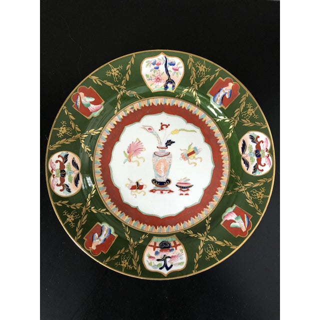 Mid 19th Century Antique Ashworth Mason's Ironstone Imari Plates - A Pair For Sale - Image 5 of 10